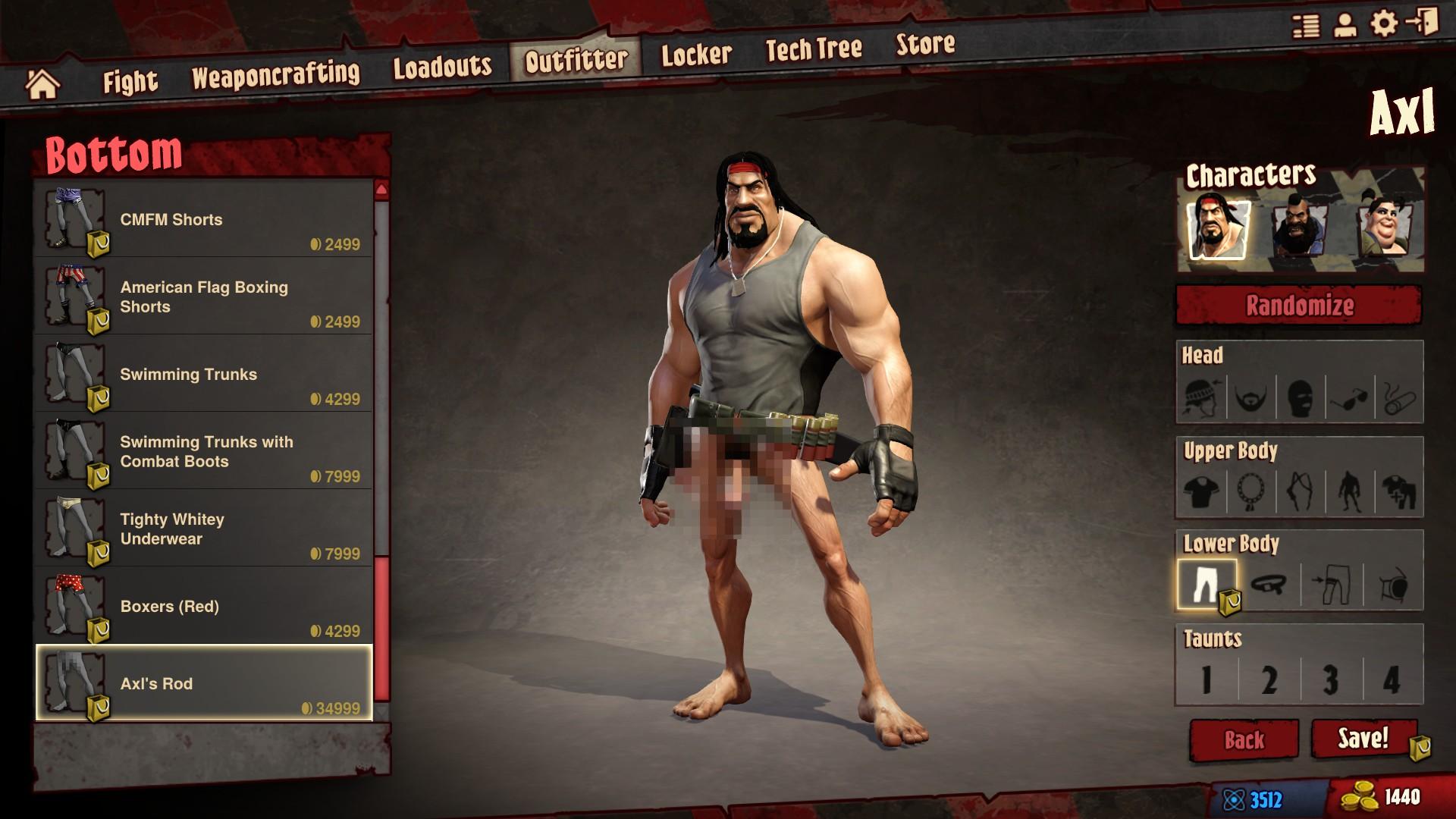 Borderlands Nude Mod Ele loadout review | reviews