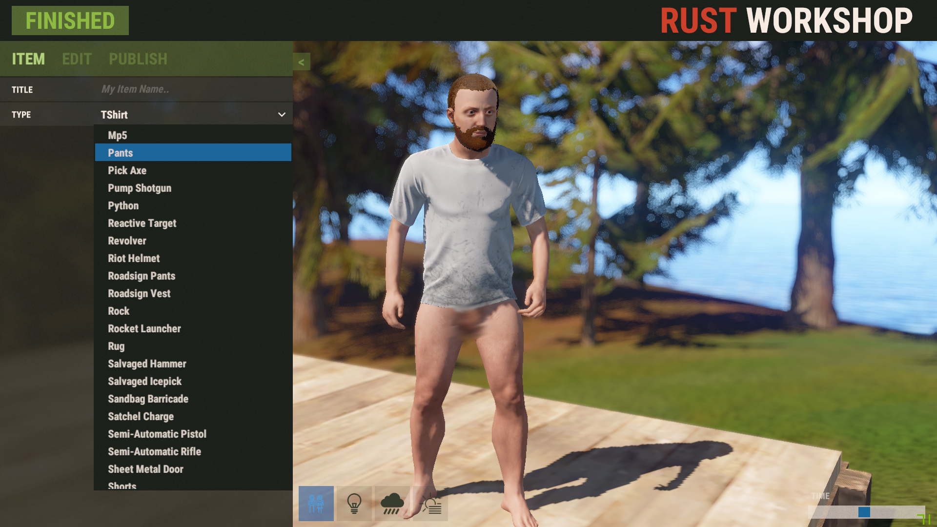 how to customize items in Rust [Rust] [Tutorials]