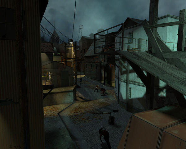 Hl2 sectors chapters architecture guide half life 2 for Half life 2 architecture