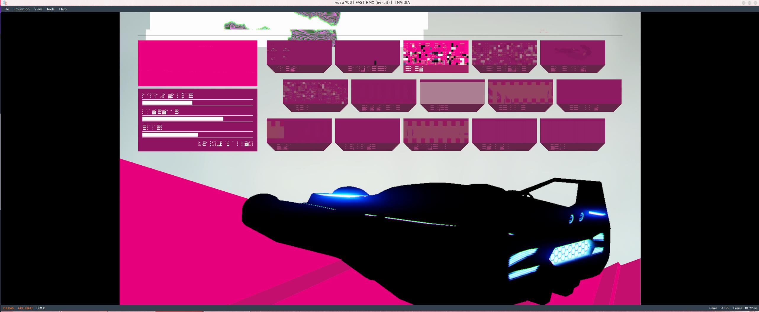 In-game unproperly rendered. (Vulkan)