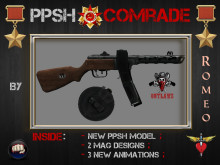 PPSH vintage weaponry - Comrade