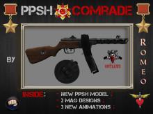 PPSH vintage weaponry - Comrade