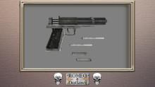 Metal Storm handgun - Jack of Diamonds