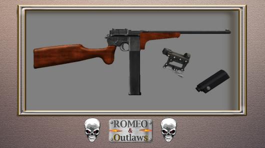 Mauser LongB Bootleg-custom - Luciano