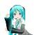 HatsuneMiekuah avatar