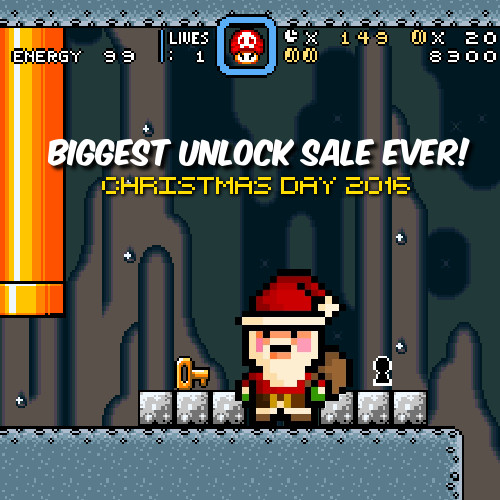 Christmas Day Unlock Sale
