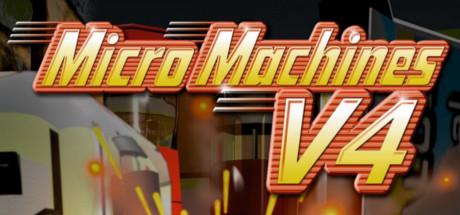 Micro Machines V4 Banner