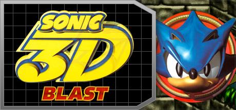 Sonic 3D Blast Banner
