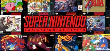 Super Nintendo Banner