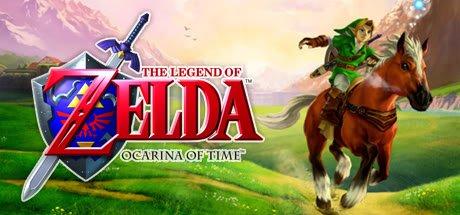 The Legend of Zelda: Ocarina of Time Banner