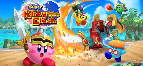 Super Kirby Clash Banner
