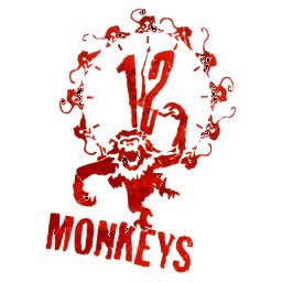 12 Monkeys (no white parts)