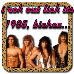 I Rock LIke It's 1985