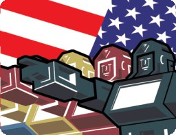 Robot Flag