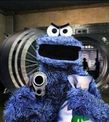 Cookie Monster Gone Bad