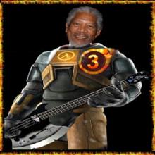 Morgan Freemam in Half Life 3?