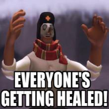 Everyone's getting healed!