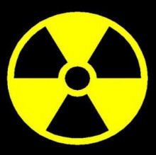 Nuclear Danger sign logos