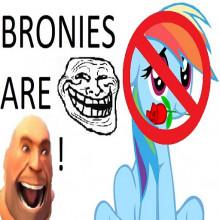Bronie... NO