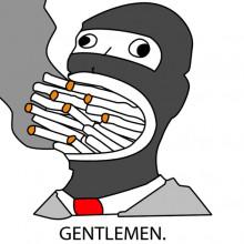 Gentlemen in 1K resolution