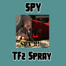 SPY TF2 Spray