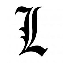 Death Note: L Ryuzaki's Icon Transparent