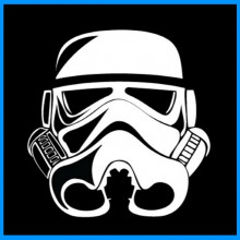 Star Wars - Stormtrooper Helm