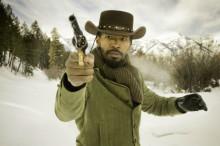 Django Unchained-snow scene spray
