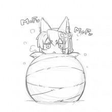 Touch Fluffy Ball