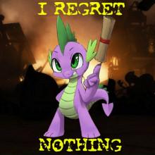 I Regret Nothing Spike
