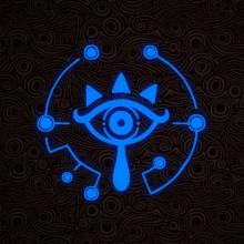 Zelda:BOTW Sheikah Eye Spray 3 colours