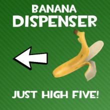 Banana Dispenser Spray
