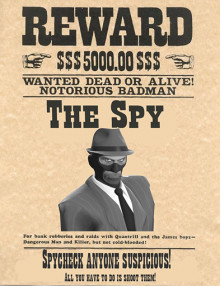 Spy Wanted Dead or Alive