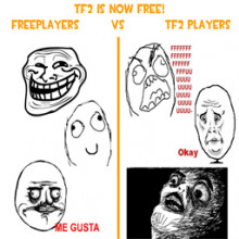 Freeplayers vs TF2 players