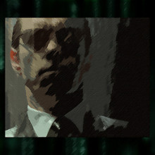 Agent Smith Painting