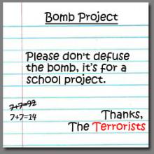 Bomb Project