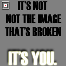 It's Not The Image
