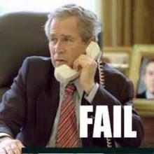 Bush_Epic_Fail