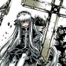 cross girl transparent