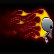 flaming_skull