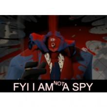 FYI i am not a Spy