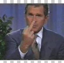 George Bush Finger