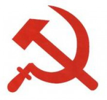 transparent hammer and sickle