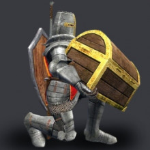 Heavy Knight with Chest