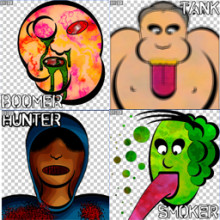 Infected Cartoon Spray Pack