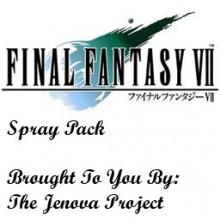 Final Fantasy 7 Spray Pack