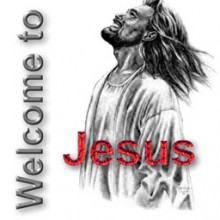 Welcome to jesus! Transparent.