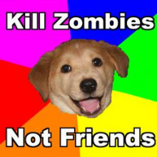 Kill Zombies Not Friends