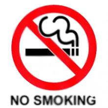 No Smoking (Transparent)