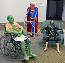 Old superheros